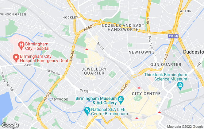 Map for Prima Lettings, Birmingham