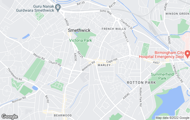 Map for Liberty Estate Agents, Smethwick