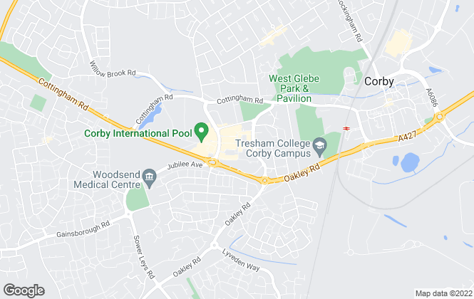 Map for Henderson Connellan, Corby
