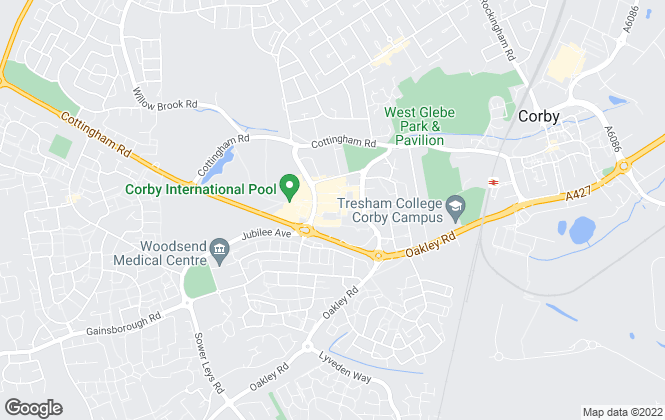 Map for William H. Brown - Lettings, Corby - Lettings