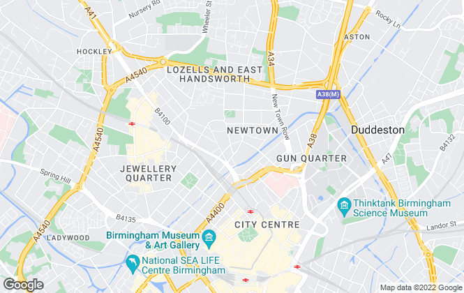 Map for Property Link Midlands, Birmingham