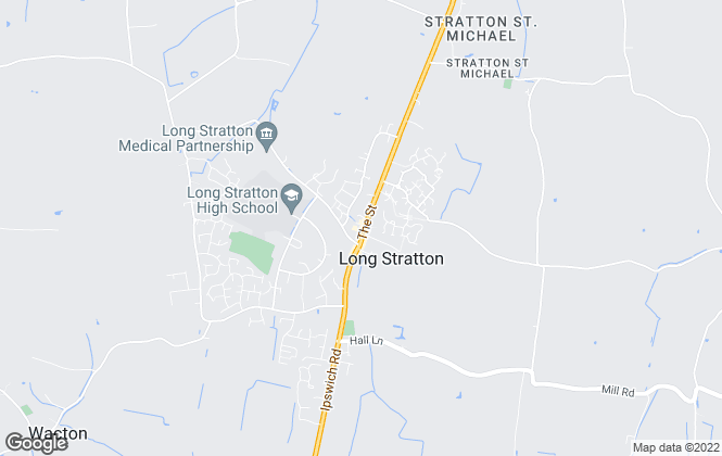 Map for Aldridge Lansdell, Long Stratton