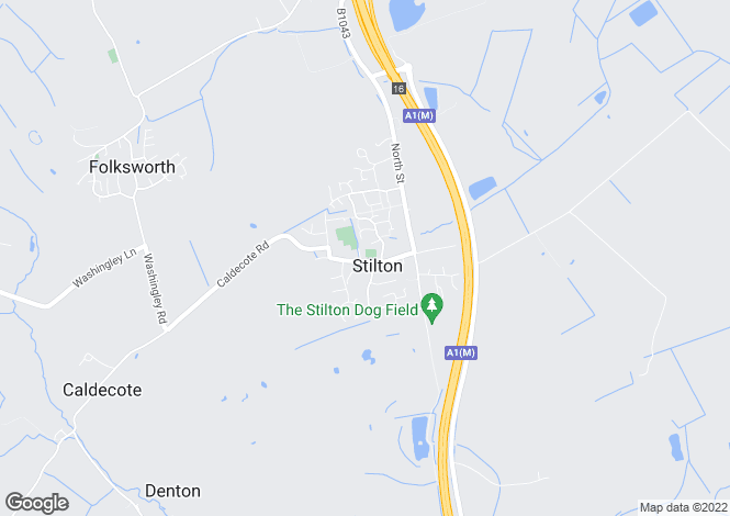 Map for Church Street, Stilton, PE7