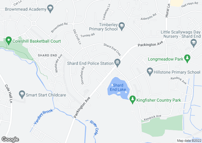 Map for Maidstone at The Crescent, The Shardway,