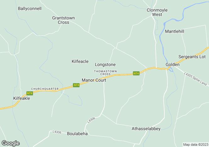 Map for 1 Thomastown Cross, Golden, Cashel, Co Tipperary, E25X583