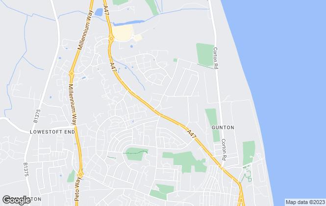 Map for Richard Perkins & Associates, Suffolk