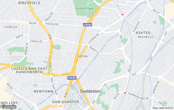 Map for Ad Hoc Property Management, Birmingham