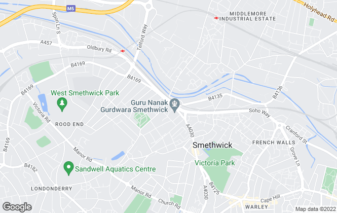 Map for Urban City Group, Birmingham