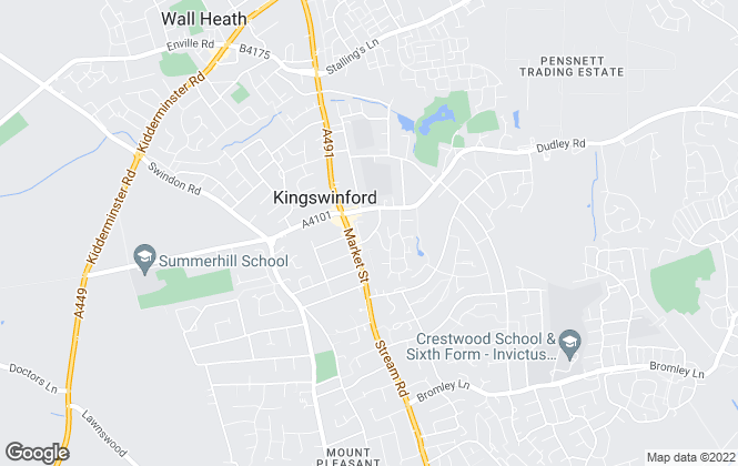 Map for Select Property Management Ltd, Kingswinford