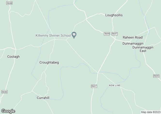Map for Monassa, Callan, Kilkenny
