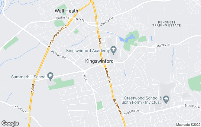 Map for The Lee Shaw Partnership, Kingswinford