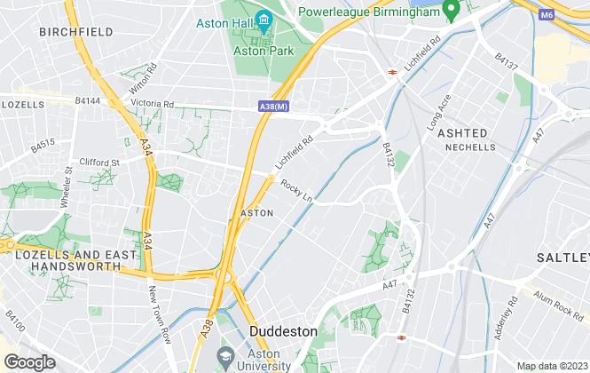 Map for Leaworks Ltd, Birmingham