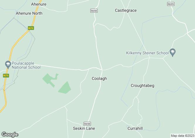 Map for Coolagh, Callan, Kilkenny