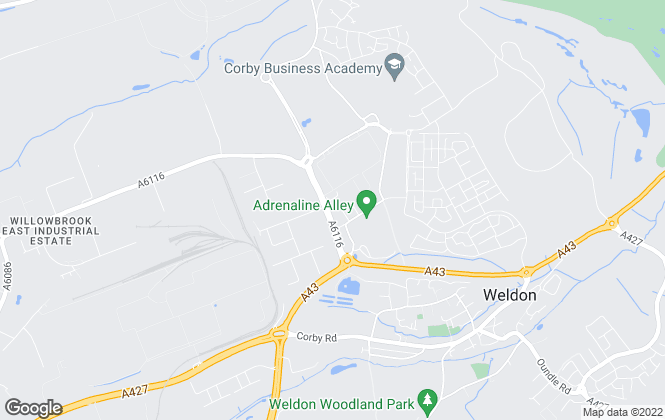 Map for Your Local Property, Corby & Kettering