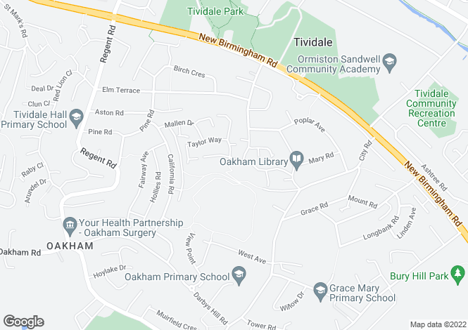 Map for Southwold at Barley Fields, Wakeman Drive,