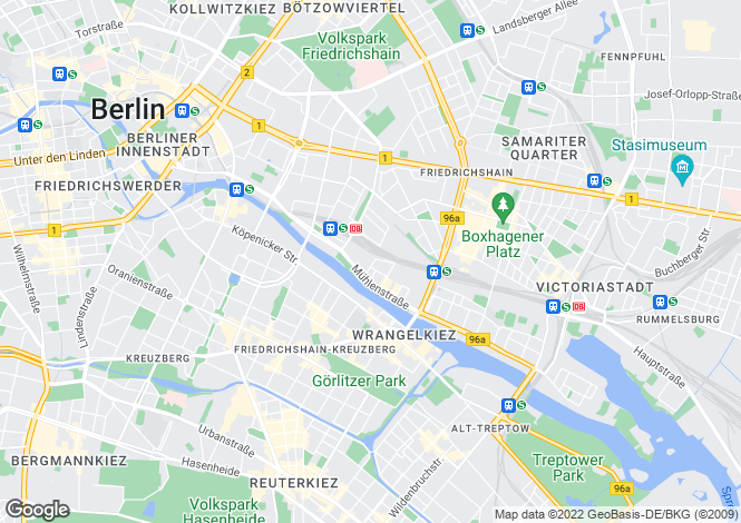 Map for Berlin