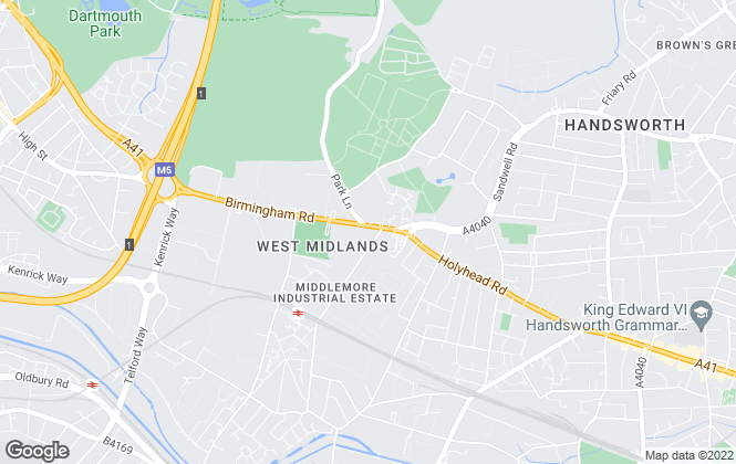 Map for FLEXSPACE, West Bromwich