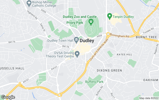 Map for Your Move , Dudley