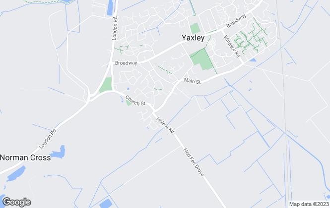 Map for Smartmove, Yaxley