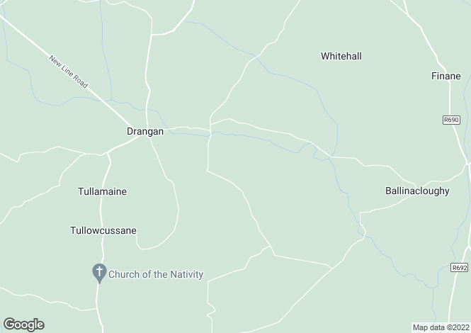 Map for White House, Drangan, Tipperary