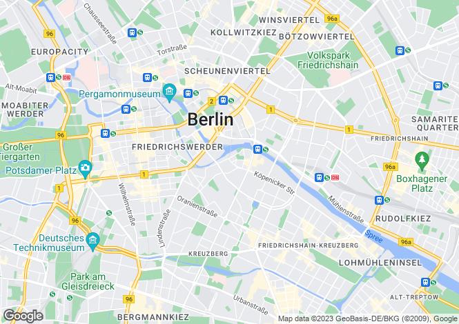 Map for Inselstrasse, Berlin, Berlin, 10179, Germany