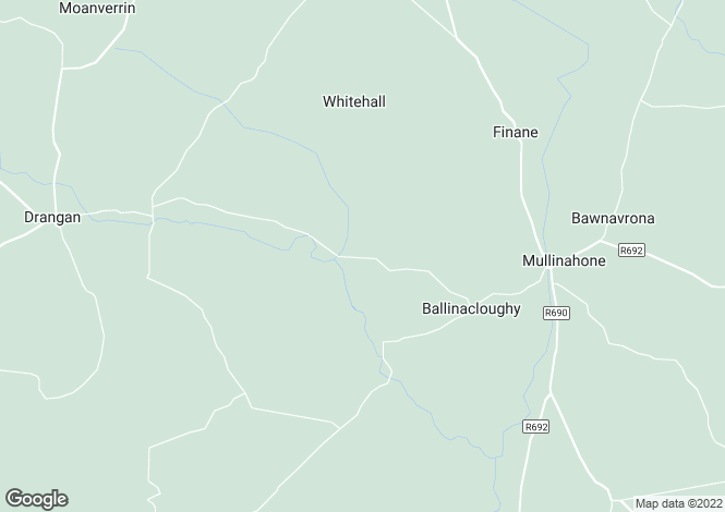 Map for Cappagnagarrane, Mullinahone, Tipperary
