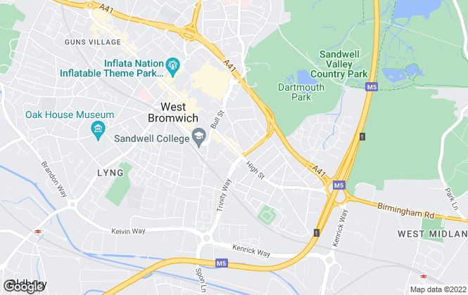 Map for Love Your Postcode & WLYP Estate Agents , West Bromwich