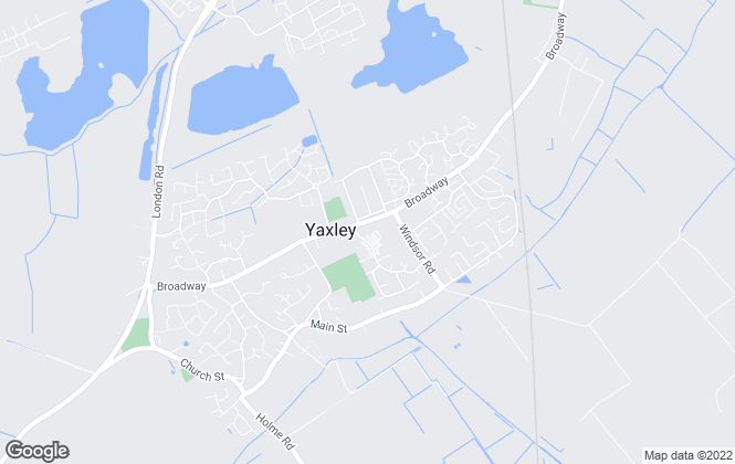 Map for Sharman Quinney, Yaxley