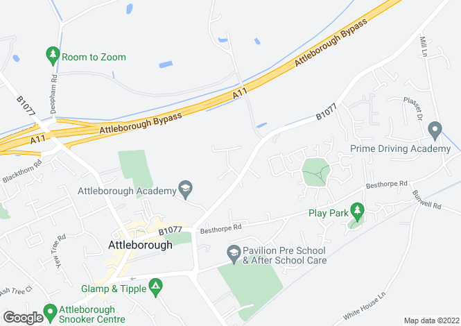 Map for Plumstead Drive,
