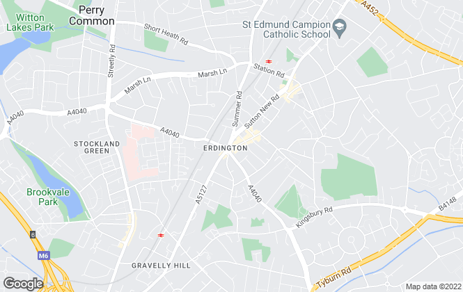 Map for Dixons, Erdington