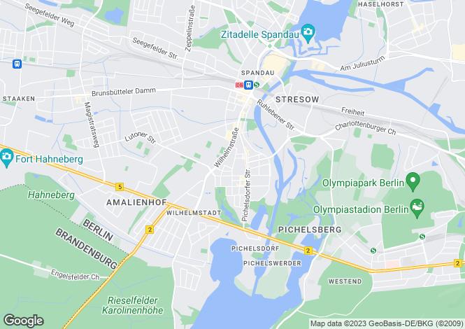 Map for Weissenburger Str. 7, Berlin, Spandau (Berlin), Germany