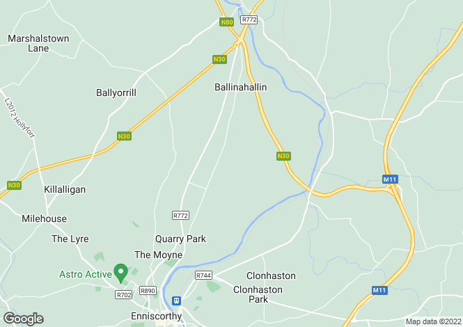 Map for Commercial Industrial Site, Kilcannon, Enniscorthy, Co Wexford