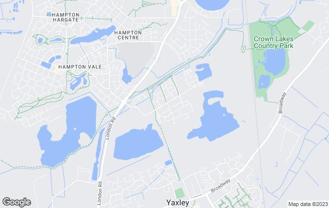 Map for Barratt Homes - Cambridgeshire