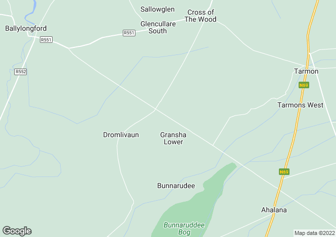 Map for Kerry, Ballylongford
