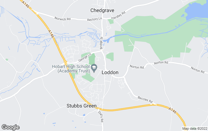 Map for Watsons, Loddon
