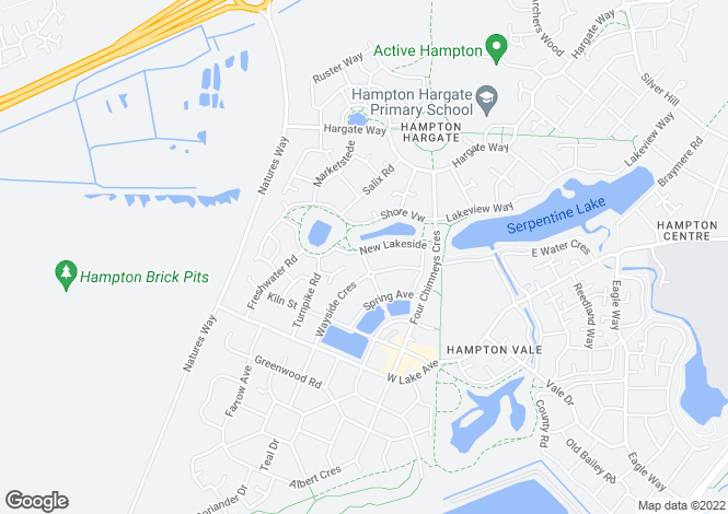 Map for MARHOLM at Waters Edge, New Lakeside,