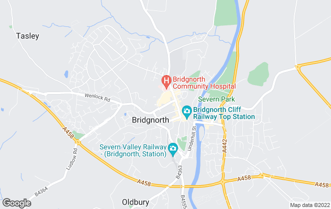 Map for Berriman Eaton, Bridgnorth
