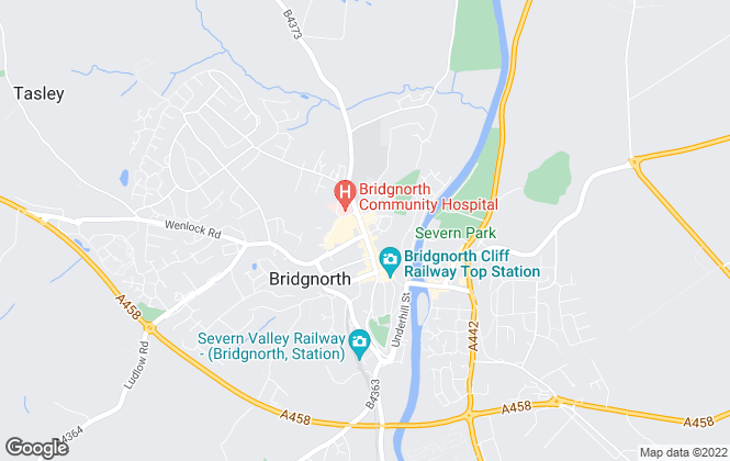 Map for McCartneys LLP, Bridgnorth