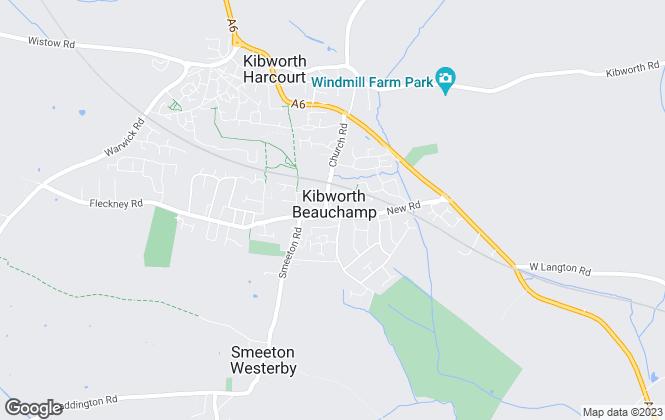Map for Kibworth Properties Ltd, Kibworth