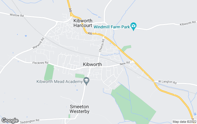 Map for Berkley Estate & Letting Agents, Kibworth Beauchamp