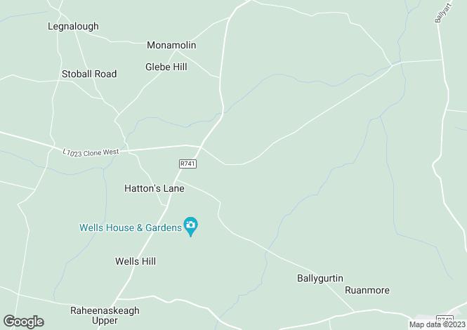 Map for Site At, Ballyrea, Ballyedmond, Gorey, Co Wexford