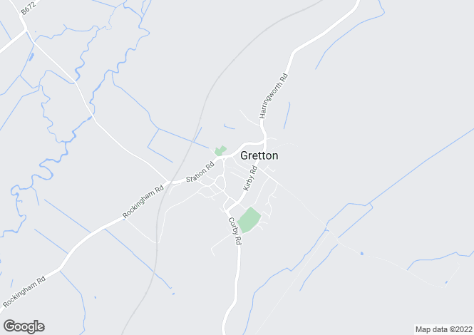 Map for 3 Caistor Road, Gretton, Northamptonshire