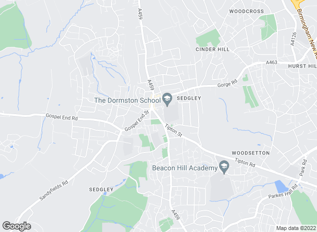 Map for Skitts the Estate Agents, Sedgley