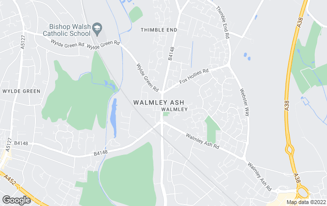 Map for Green & Co, Walmley