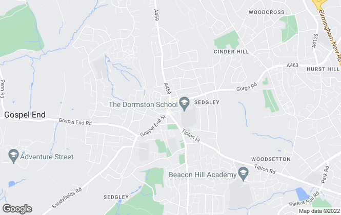 Map for Boydell Lettings, Sedgley