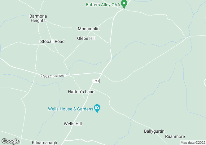 Map for Ballyedmond, Gorey, Co. Wexford, Y25 XY63