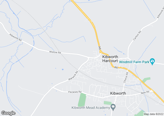 Map for Woodleigh at Kibworth Meadows, Wistow Road,
