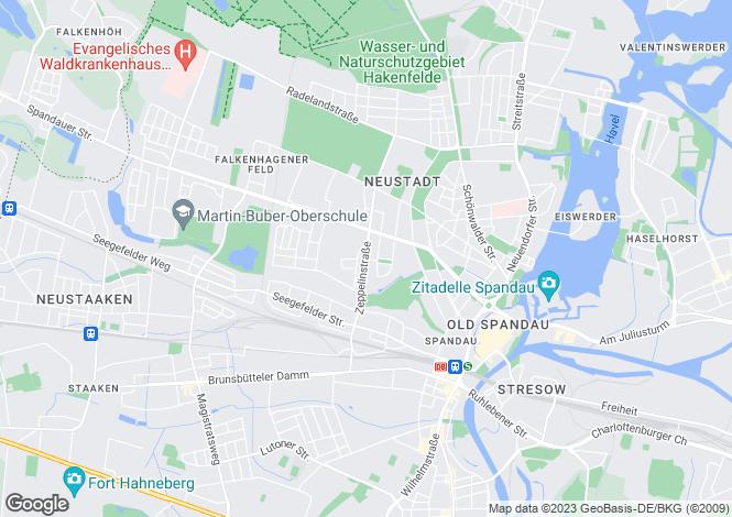 Map for Zeppelinstrasse, Berlin, , Italy
