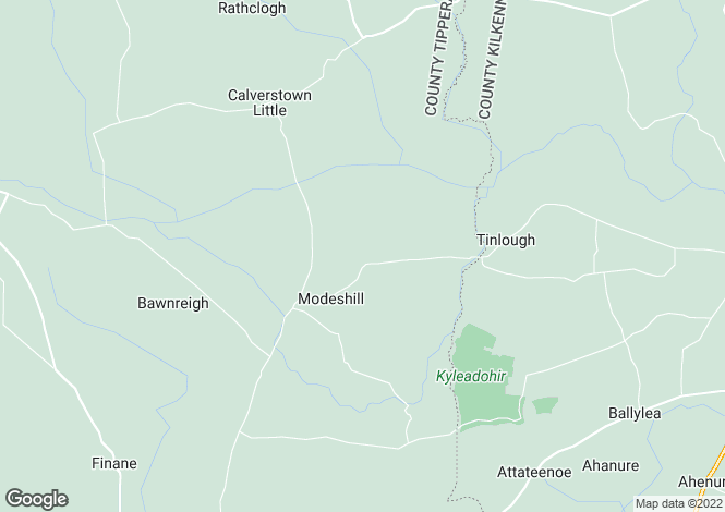 Map for Ayre, Modeshill, Mullinahone, Co Tipperary, E41 KT51