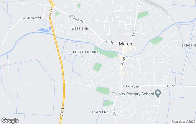 Map for Cannon Kirk Homes